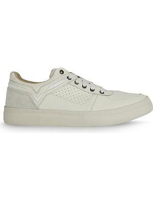 DIESEL V is for Diesel S-Spaark leather high-top sneakers