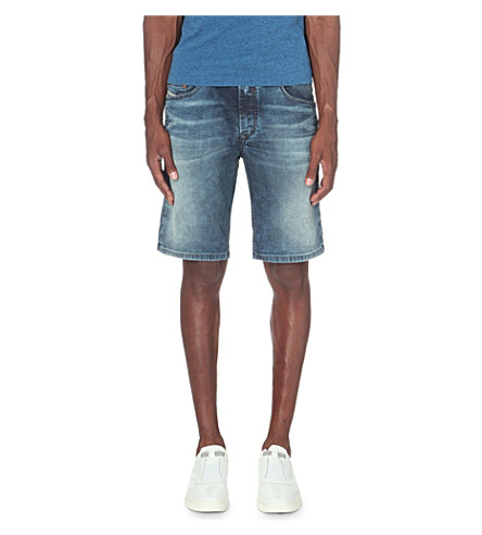 DIESEL Waykee denim loose-fit shorts (Denim