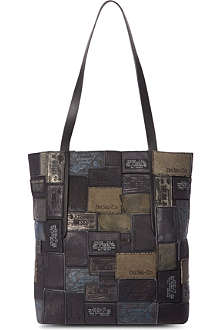 DIESEL Tribute leather shopper bag