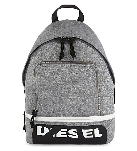 DIESEL F-Scuba backpack (Steel+gray