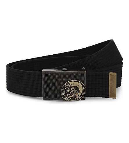 DIESEL Bbuzyy belt (Black