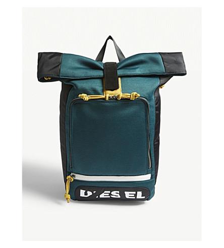 DIESEL F-Scuba Rolltop backpack (Ponderosa+pine