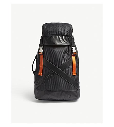 DIESEL Xxback nylon backpack (Black