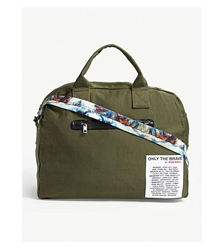 DIESEL XXMatch reversible duffle bag (Brnzgreenprinting