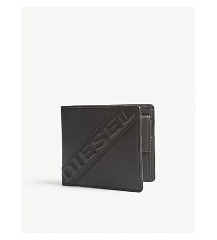DIESEL Hiresh S leather wallet (Black