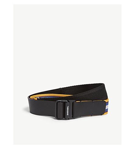 DIESEL - b-flaw - belt (Multicolor/black
