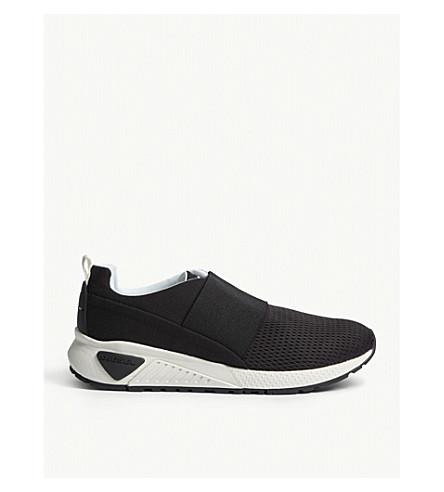 DIESEL S-KB elastic trainers (Black