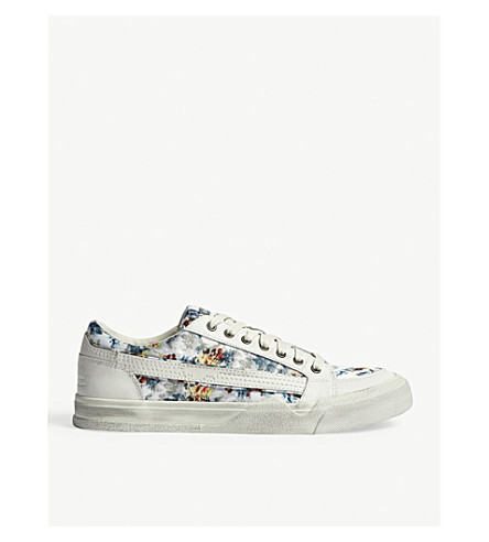 DIESEL S-Grindd Low Lace trainers (Multicolor