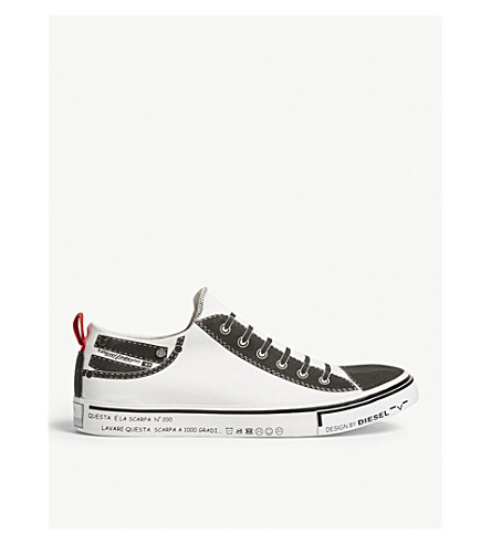 DIESEL S-Imaginee low slip-on trainers (White