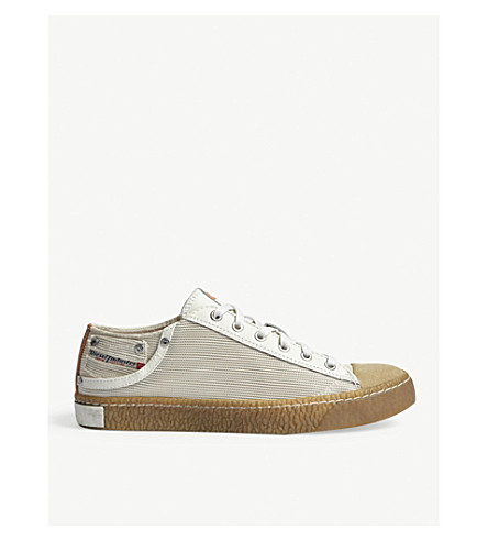 DIESEL Exposure Low I trainers (Dirty+white