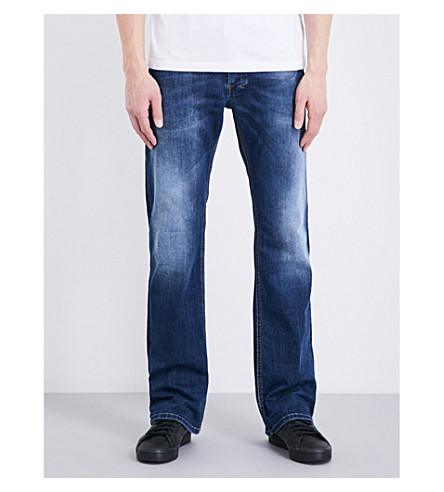 DIESEL Zatiny regular-fit straight jeans (Denim+blue