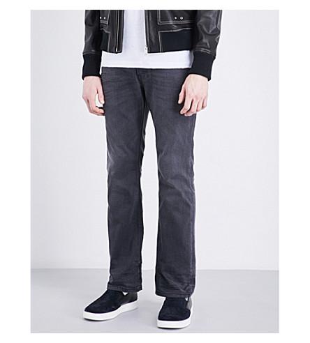 DIESEL Zatiny regular-fit straight jeans (Black