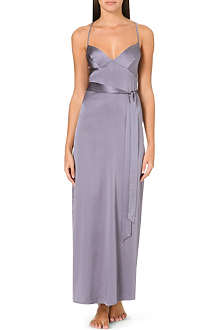 MYLA Arya stretch-silk long gown
