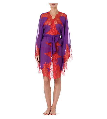 MYLA Elsa short kimono (Iris/rouge