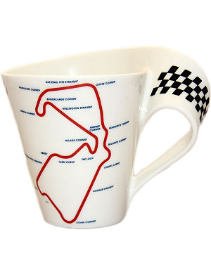 VILLEROY & BOCH New Wave Silverstone mug 350ml