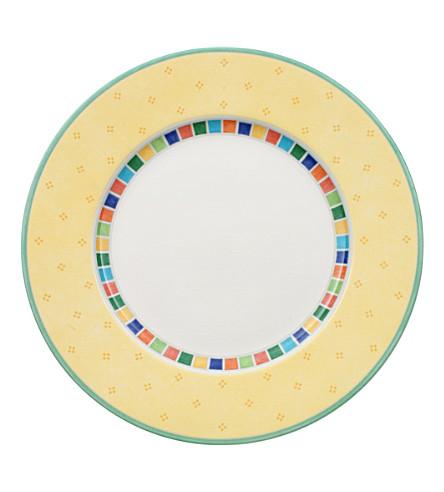 VILLEROY & BOCH Twist Alea Limone flat plate 27cm