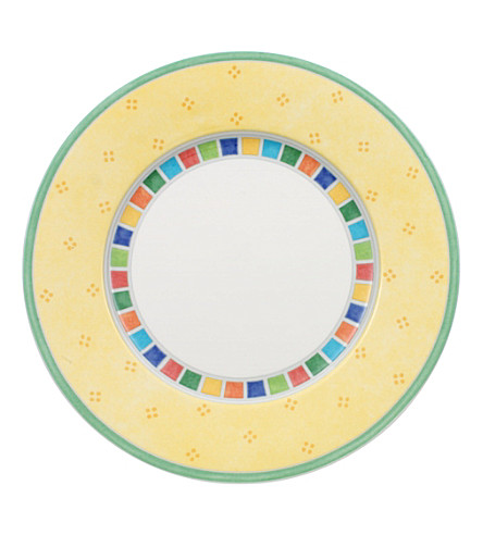 VILLEROY & BOCH Twist Alea Limone bread and butter plate 17cm