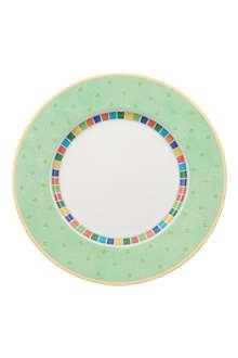VILLEROY & BOCH Twist Alea Verde flat plate 27cm