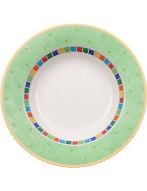 VILLEROY & BOCH Twist Alea Verde deep plate 24cm