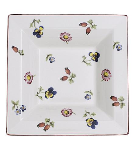 VILLEROY & BOCH Petite Fleur Gifts porcelain square bowl 14cm