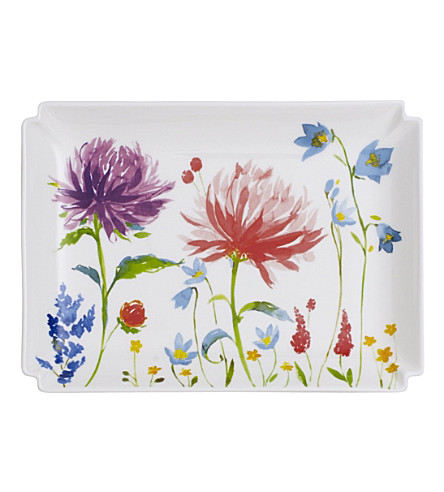 VILLEROY & BOCH Anmut Flower decorative plate