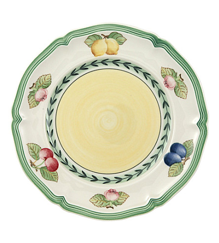 VILLEROY & BOCH French Garden Fleurence bread and butter plate 17cm