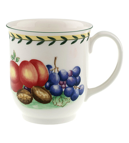 VILLEROY & BOCH French Garden Fleurence mug 42ml