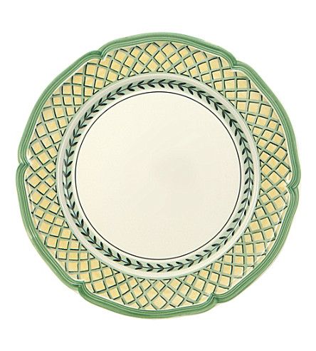 VILLEROY & BOCH French garden orange flat plate 26cm