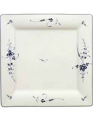 VILLEROY & BOCH Old Luxembourg square flat plate 27cm