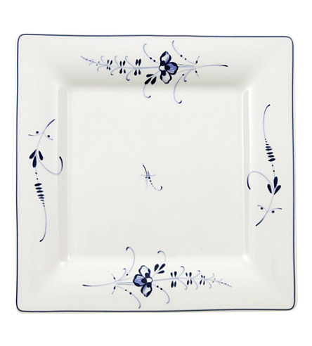VILLEROY & BOCH Old Luxembourg square salad plate 21cm
