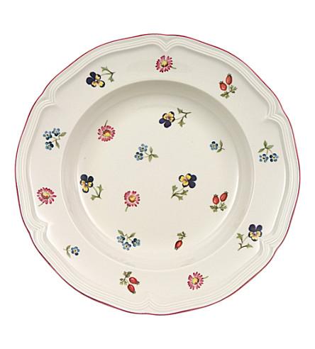 VILLEROY & BOCH Petite Fleur deep plate 23cm