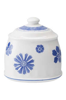 VILLEROY & BOCH Farmhouse Touch Blueflowers sugar bowl