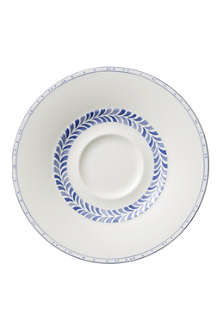 VILLEROY & BOCH Farmhouse Touch Blueflowers coffee saucer