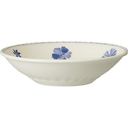 VILLEROY & BOCH Farmhouse Touch Blueflowers deep plate 25cm