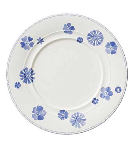 VILLEROY & BOCH Farmhouse Touch Blueflowers dinner plate 28cm
