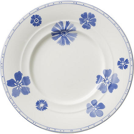 VILLEROY & BOCH Farmhouse Touch Blueflowers bread & butter plate 17cm