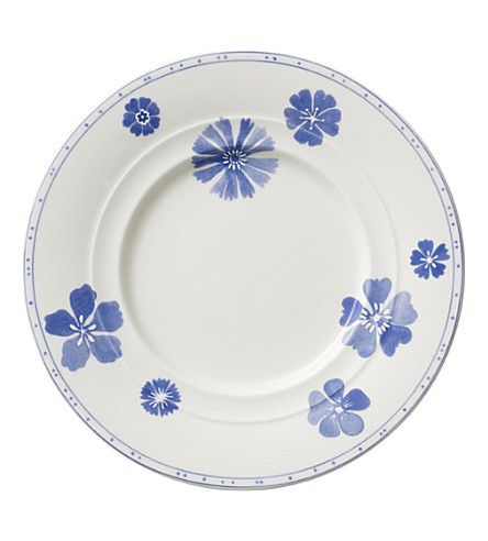 VILLEROY & BOCH Farmhouse Touch Blueflowers bread & butter plate 17cm