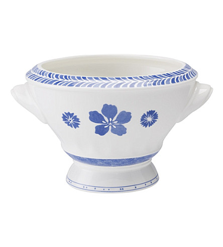 VILLEROY & BOCH Farmhouse Touch Blueflowers Relief bowl 14cm