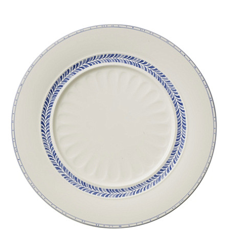 VILLEROY & BOCH Farmhouse Touch Blueflowers Relief dinner plate 28cm