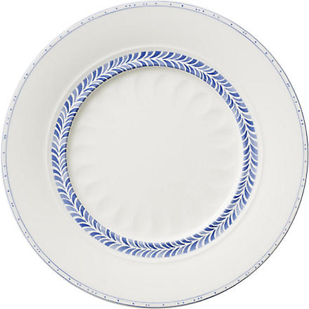 VILLEROY & BOCH Farmhouse Touch Blueflowers Relief salad plate 23cm