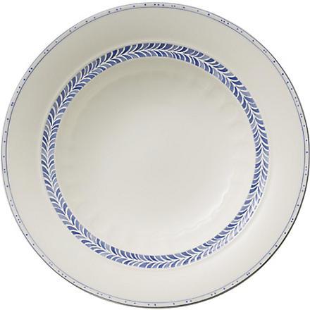 VILLEROY & BOCH Farmhouse Touch Blueflowers Relief deep plate 24cm