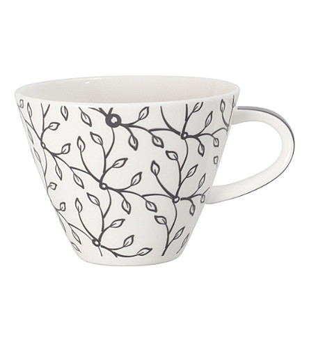 VILLEROY & BOCH Caffè Club floral steam coffee cup