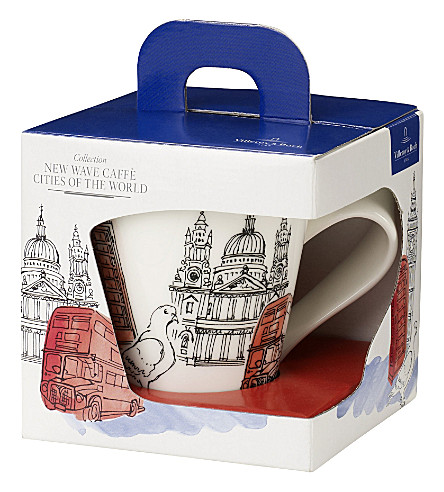 VILLEROY & BOCH New Wave Caffè London mug gift box