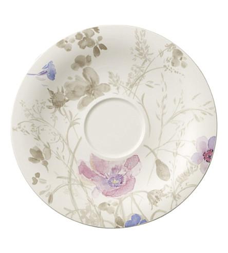 VILLEROY & BOCH Mariefleur Gris breakfast cup saucer 19cm