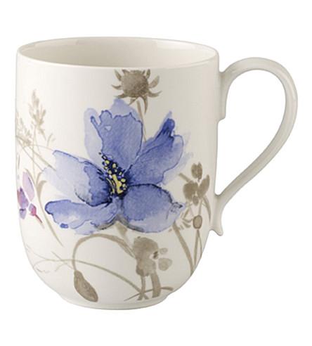 VILLEROY & BOCH Mariefleur Gris latte mug