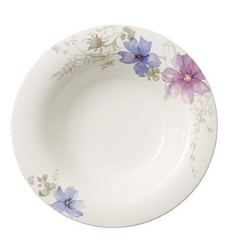 VILLEROY & BOCH Mariefleur Gris deep plate 23cm