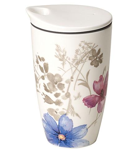 VILLEROY & BOCH Mariefleur coffee-to-go porcelain mug