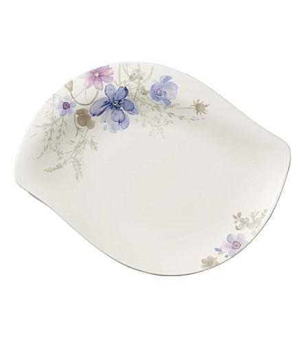 VILLEROY & BOCH Mariefleur Gris shallow serving bowl 34cm