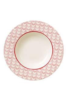 VILLEROY & BOCH Lina Rosy deep plate 24cm