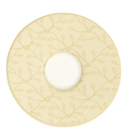 VILLEROY & BOCH Floral vanilla espresso saucer 12cm